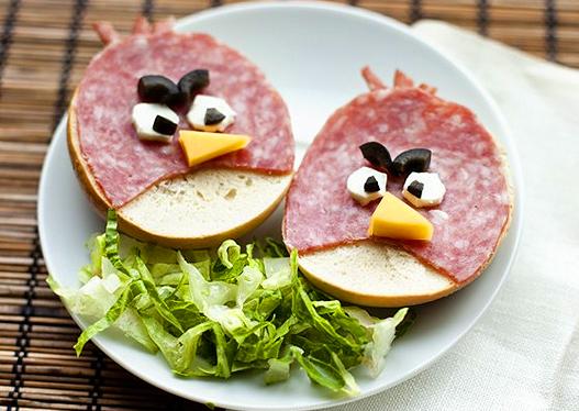 красивые бутерброды для детей с фото